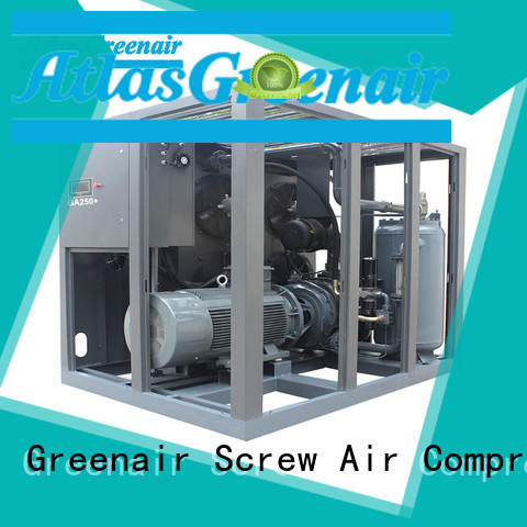 Atlas Greenair Screw Air Compressor single stage atlas copco screw compressor supplier for tropical area