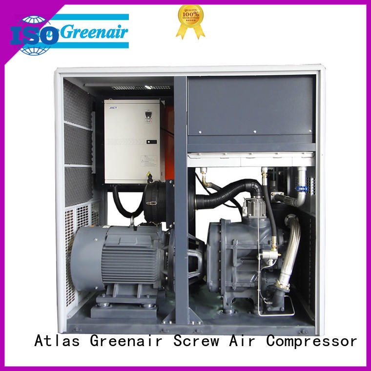 Atlas Greenair Screw Air Compressor cheap variable speed air compressor for busniess for sale