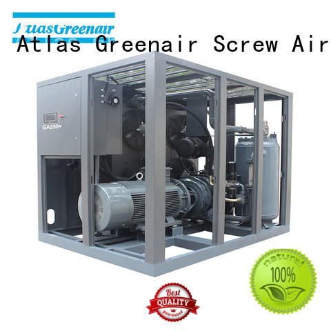 Atlas Greenair Screw Air Compressor fixed fixed speed rotary screw air compressor supplier for sale