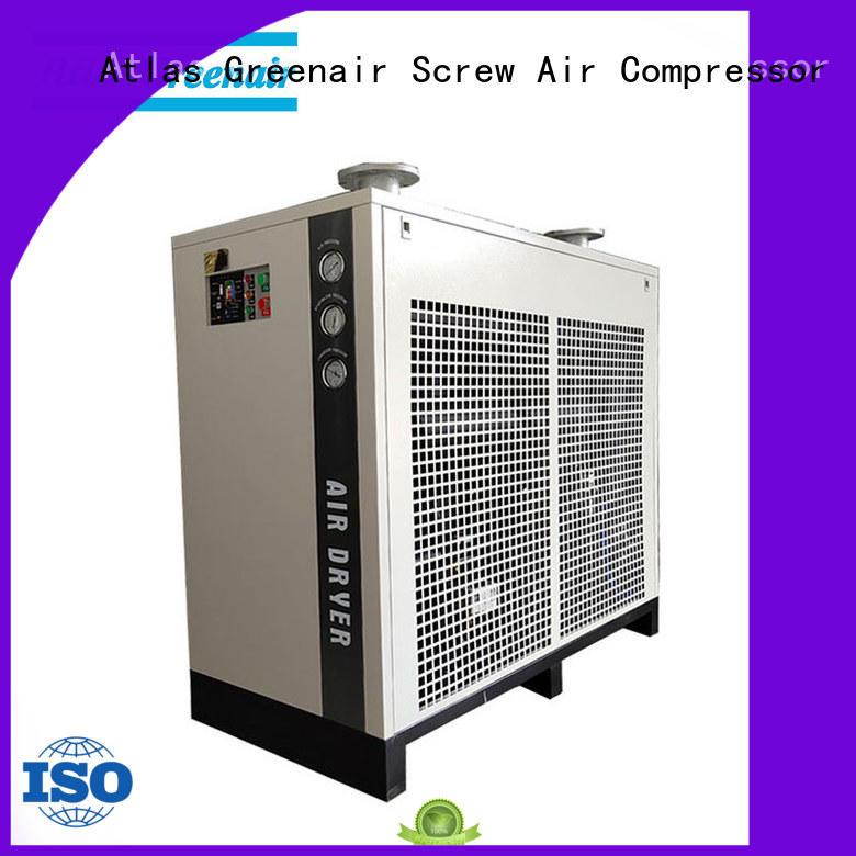 Atlas Greenair Screw Air Compressor refrigerated air dryer supplier wholesale