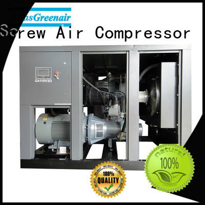 Atlas Greenair Screw Air Compressor two stage variable speed air compressor with four pole motor for tropical area