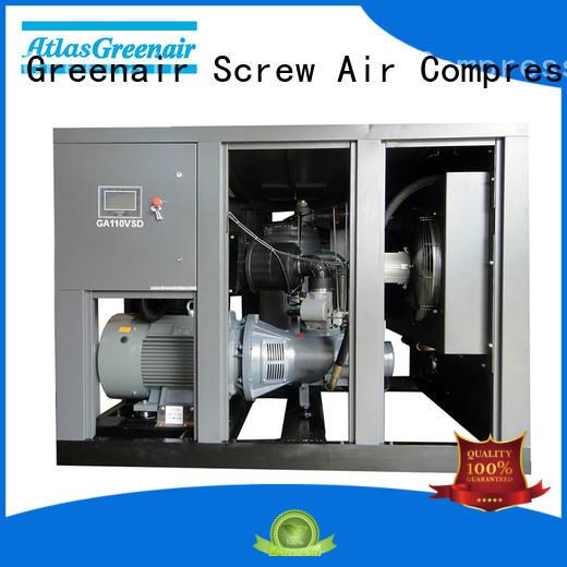 Atlas Greenair Screw Air Compressor ga variable speed air compressor with a single air compressor for sale
