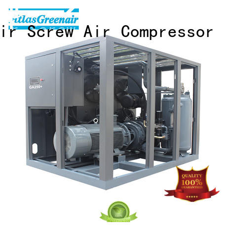 Atlas Greenair Screw Air Compressor two stage rotary screw compressor manufacturers manufacturer for tropical area