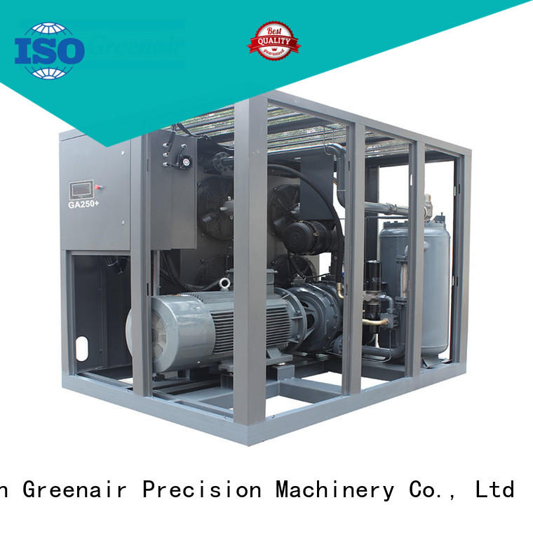 Atlas Greenair Screw Air Compressor fixed speed rotary screw air compressor supplier for tropical area