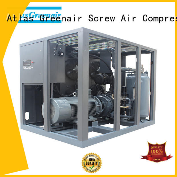 Atlas Greenair Screw Air Compressor skf atlas copco screw compressor for busniess for sale