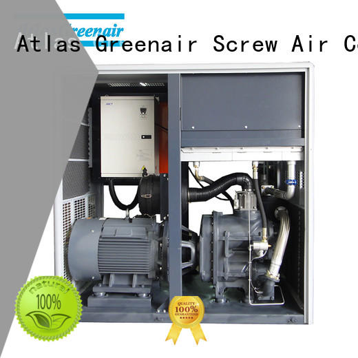 two stage atlas copco oil injected rotary screw compressors with four pole motor for tropical area