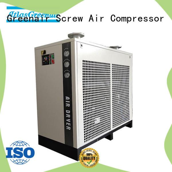 Atlas Greenair Screw Air Compressor high quality air dryer for compressor thick copper pipe for sale
