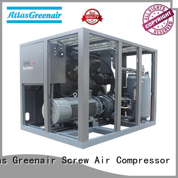 custom fixed speed rotary screw air compressor supplier for sale