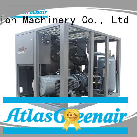 Atlas Greenair Screw Air Compressor skf fixed speed rotary screw air compressor with an oil content for sale