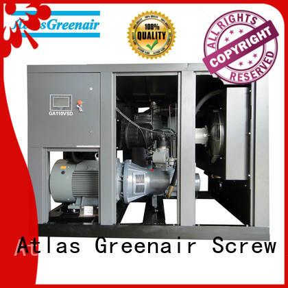 Atlas Greenair Screw Air Compressor high quality vsd compressor atlas copco with an asynchronous motor for tropical area