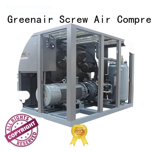 skf fixed speed rotary screw air compressor high quality wholesale Atlas Greenair Screw Air Compressor