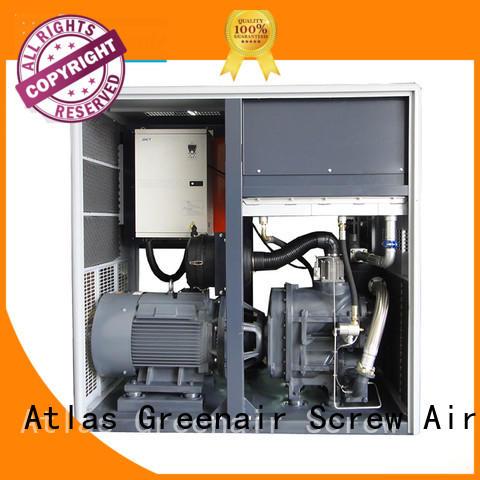 Atlas Greenair Screw Air Compressor two stage industrial rotary screw air compressor with an asynchronous motor for tropical area