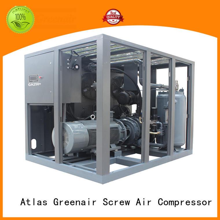 Atlas Greenair Screw Air Compressor fixed speed rotary screw air compressor with an oil content wholesale
