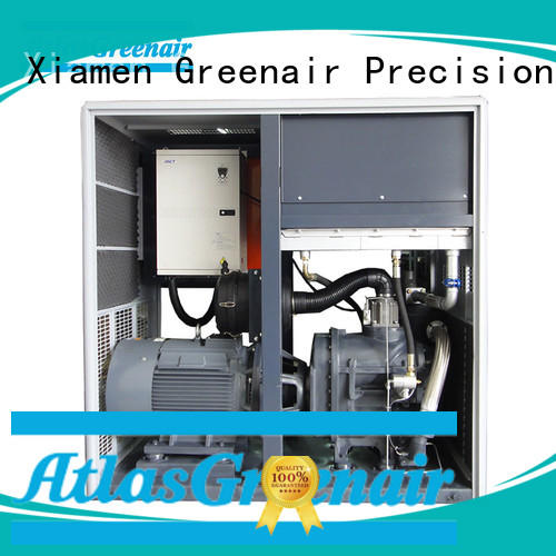 Atlas Greenair Screw Air Compressor high quality variable speed air compressor for busniess for sale