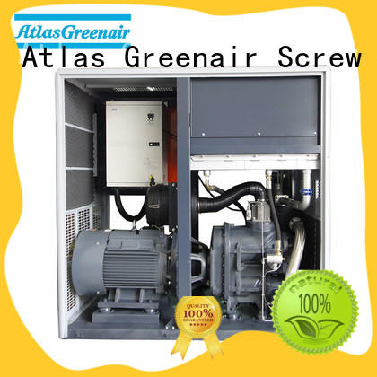 Atlas Greenair Screw Air Compressor cheap variable speed air compressor manufacturer customization