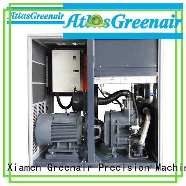 Atlas Greenair Screw Air Compressor variable speed air compressor manufacturer for tropical area