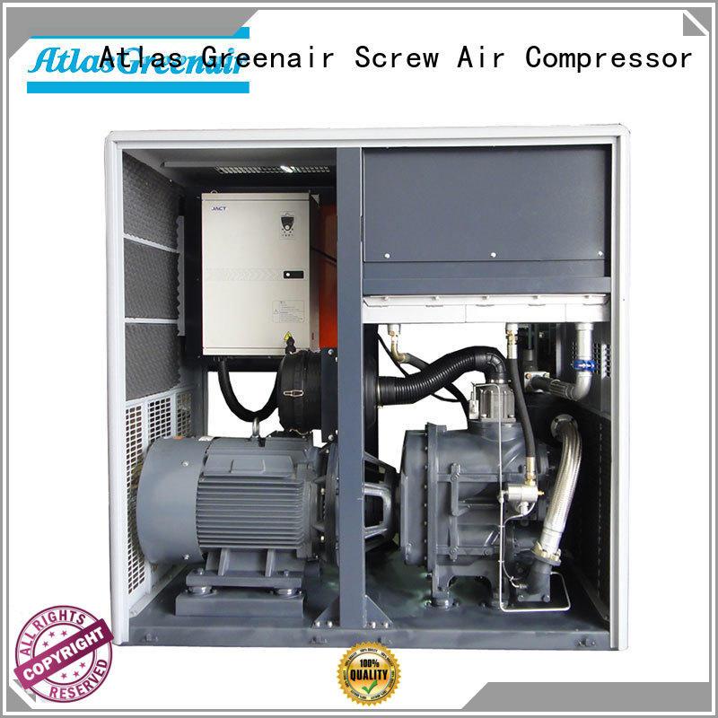 Atlas Greenair Screw Air Compressor top variable speed air compressor with a single air compressor for sale