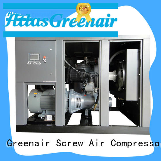 gm screw type air compressor atlas copco vsd for sale Atlas Greenair Screw Air Compressor