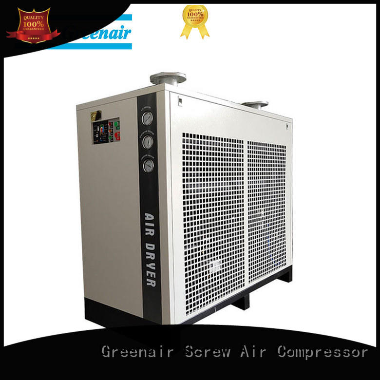 Atlas Greenair Screw Air Compressor fd refrigerated air dryer thick copper pipe for tropical area