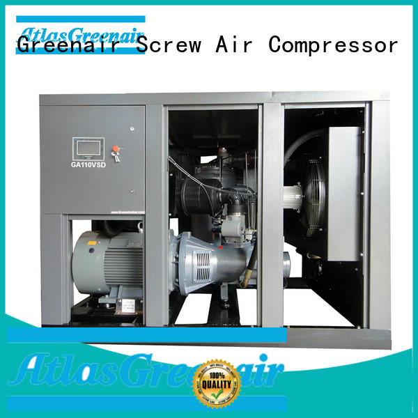 Atlas Greenair Screw Air Compressor best vsd compressor atlas copco with an asynchronous motor for sale