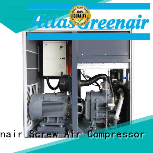 Atlas Greenair Screw Air Compressor best variable speed drive compressor customization