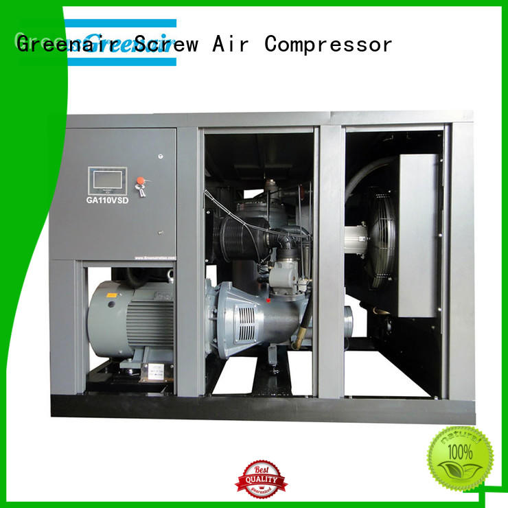 variable speed air compressor with an asynchronous motor for tropical area Atlas Greenair Screw Air Compressor