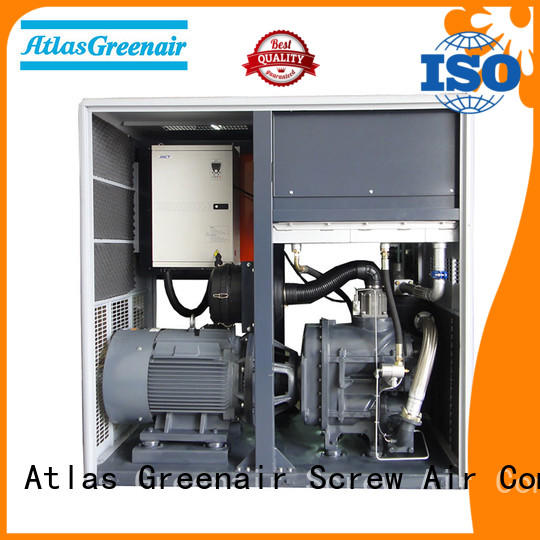Atlas Greenair Screw Air Compressor professional air compressors variable speed for sale