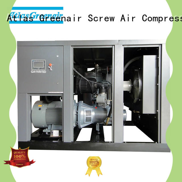 Atlas Greenair Screw Air Compressor vsd compressor atlas copco with an asynchronous motor for sale
