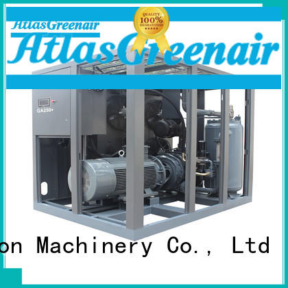 high quality fixed speed rotary screw air compressor skf wholesale Atlas Greenair Screw Air Compressor