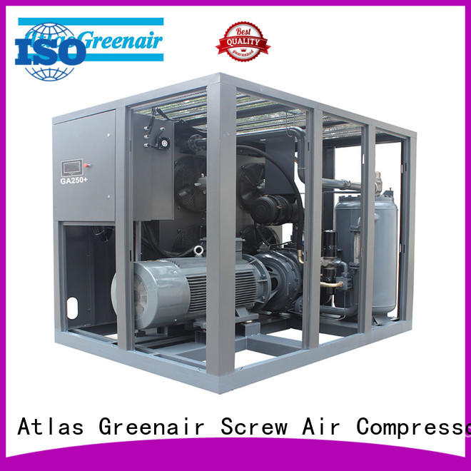 wholesale fixed speed rotary screw air compressor company for tropical area