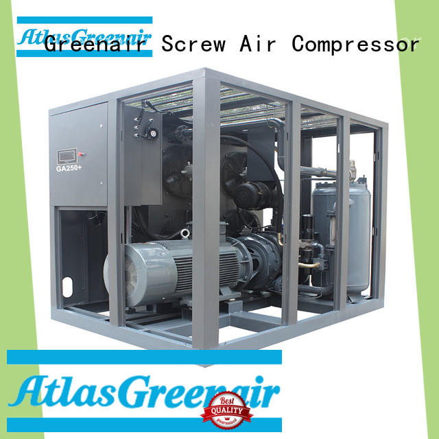 Atlas Greenair Screw Air Compressor fixed speed rotary screw air compressor manufacturer wholesale