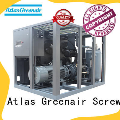 Atlas Greenair Screw Air Compressor fixed speed rotary screw air compressor with an oil content wholesale