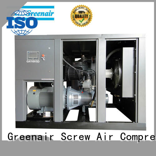Atlas Greenair Screw Air Compressor best variable speed air compressor with an asynchronous motor for sale