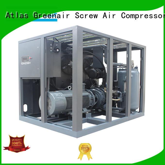 Atlas Greenair Screw Air Compressor single stage rotary screw compressor manufacturers for sale