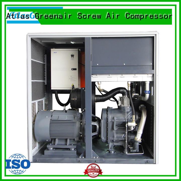 Atlas Greenair Screw Air Compressor vsd compressor atlas copco with an asynchronous motor for sale