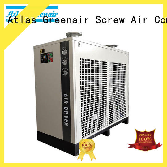 Atlas Greenair Screw Air Compressor high end air dryer for compressor company wholesale