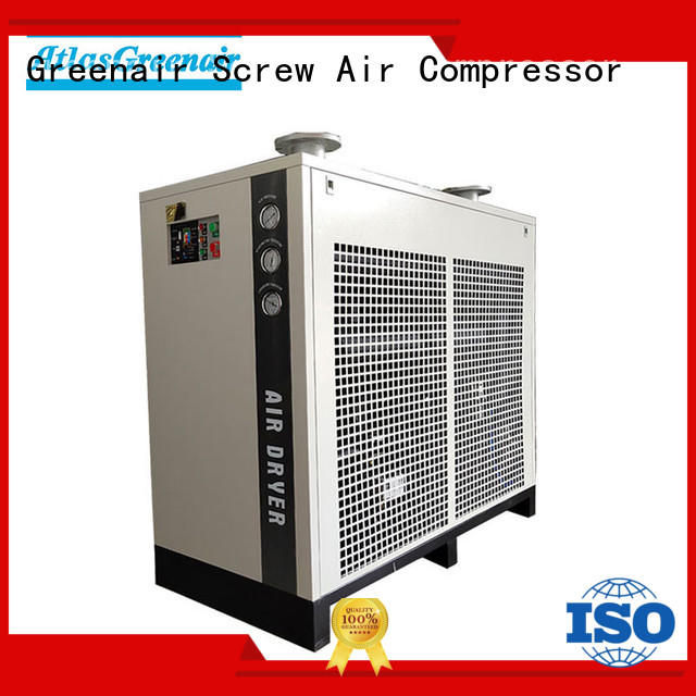 refrigerant air dryer efficient wholesale Atlas Greenair Screw Air Compressor