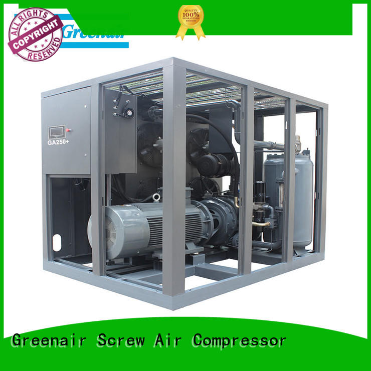 new fixed speed rotary screw air compressor supplier for sale