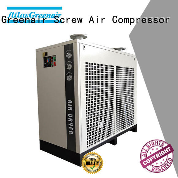 professional refrigerated air dryer efficient for sale Atlas Greenair Screw Air Compressor