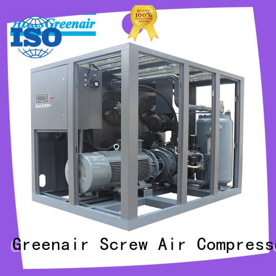 single stage fixed speed rotary screw air compressor manufacturer for sale