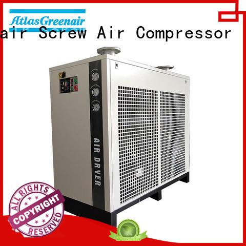 Atlas Greenair Screw Air Compressor air dryer for compressor manufacturer for tropical area