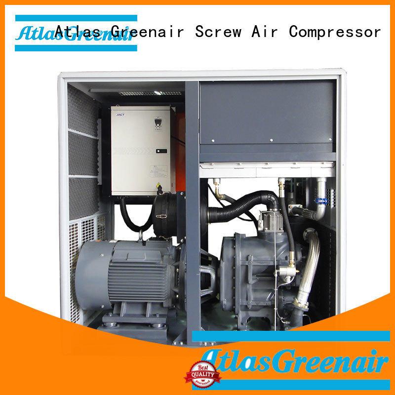 Atlas Greenair Screw Air Compressor cheap vsd compressor atlas copco with a single air compressor for tropical area