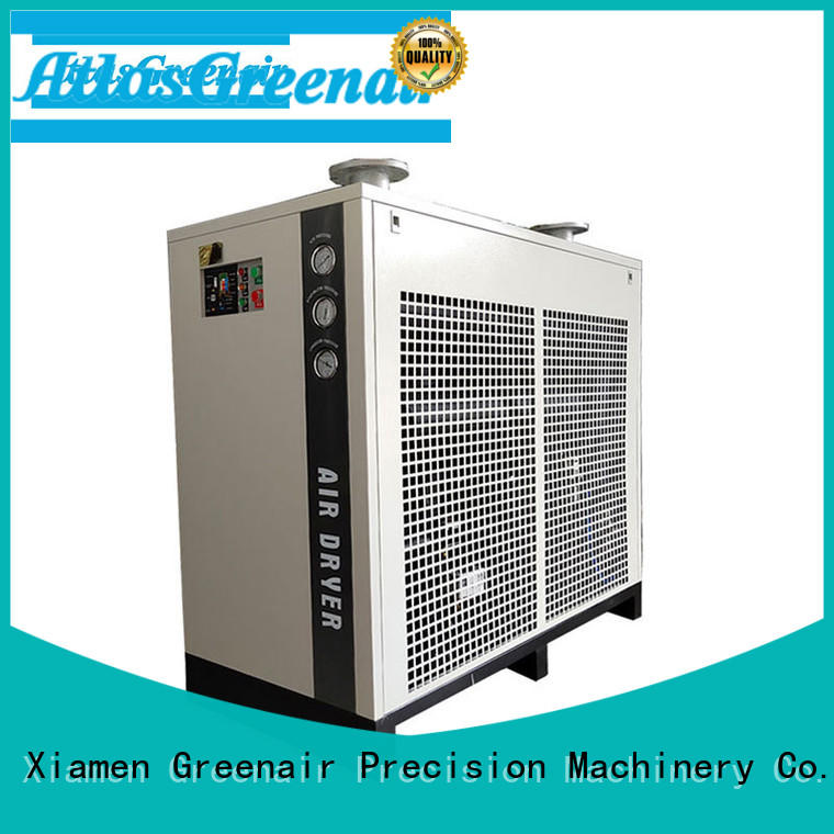 Atlas Greenair Screw Air Compressor high quality best air dryer for compressor professional for tropical area
