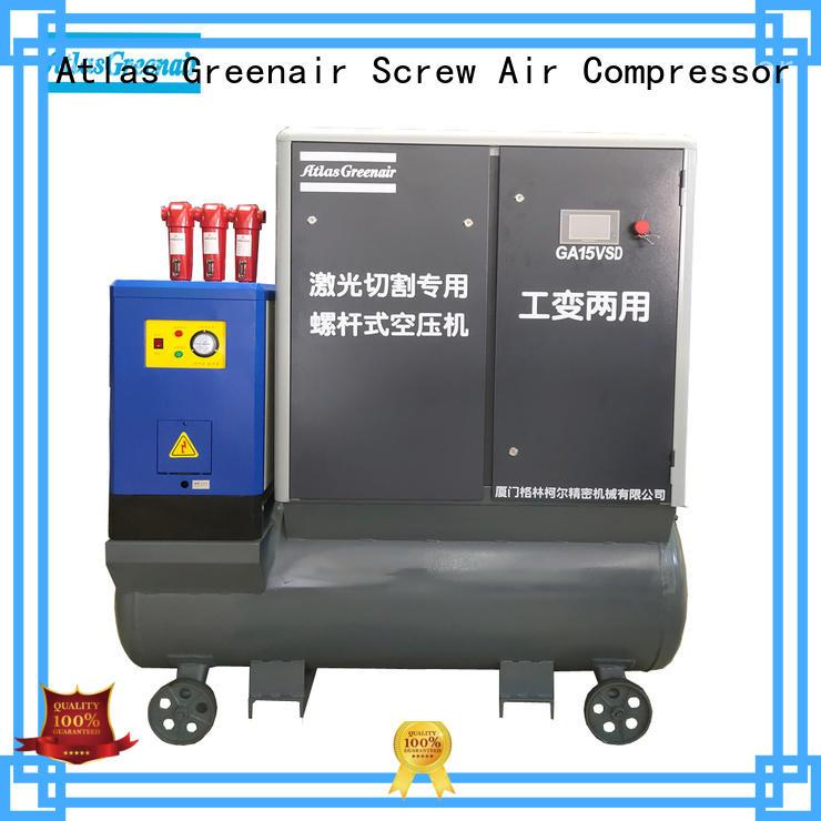 pm vsd compressor atlas copco with an asynchronous motor for tropical area Atlas Greenair Screw Air Compressor