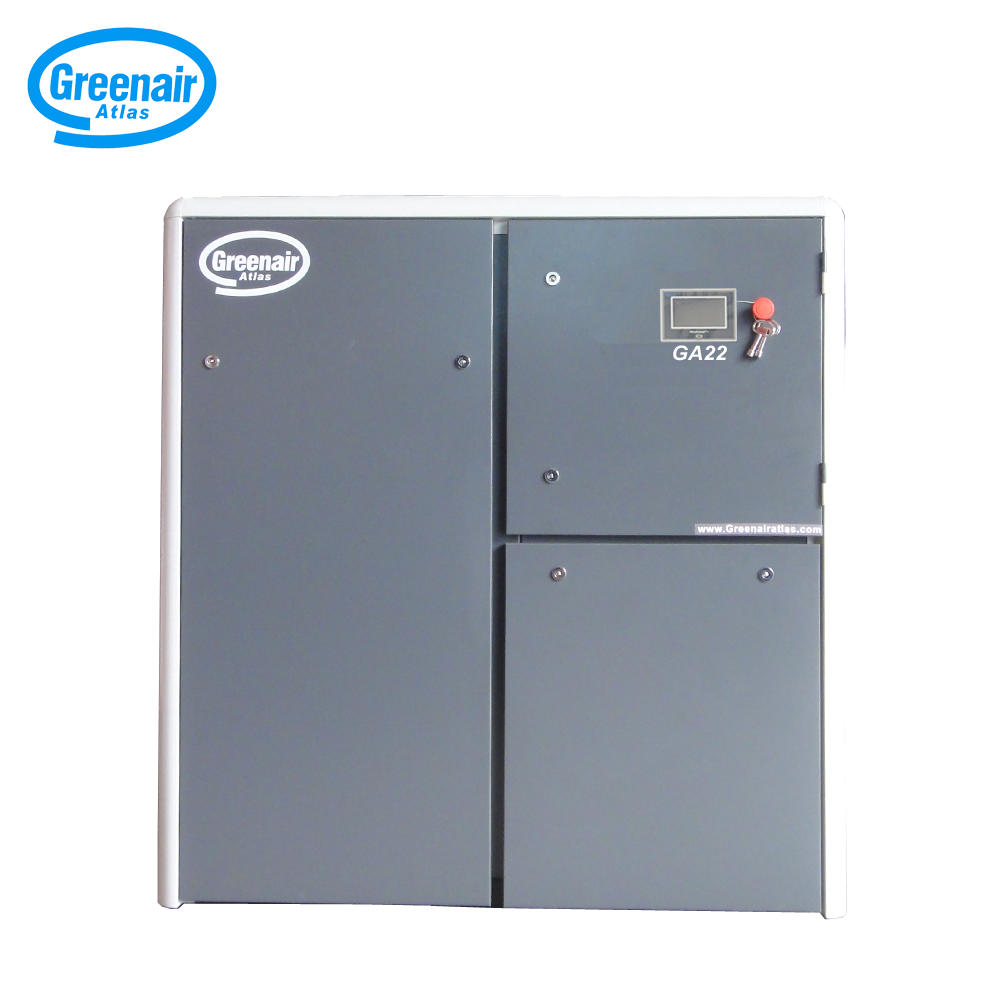 Atlas Greenair GA22 22kW 30HP Oil Less Air Screw Compressor