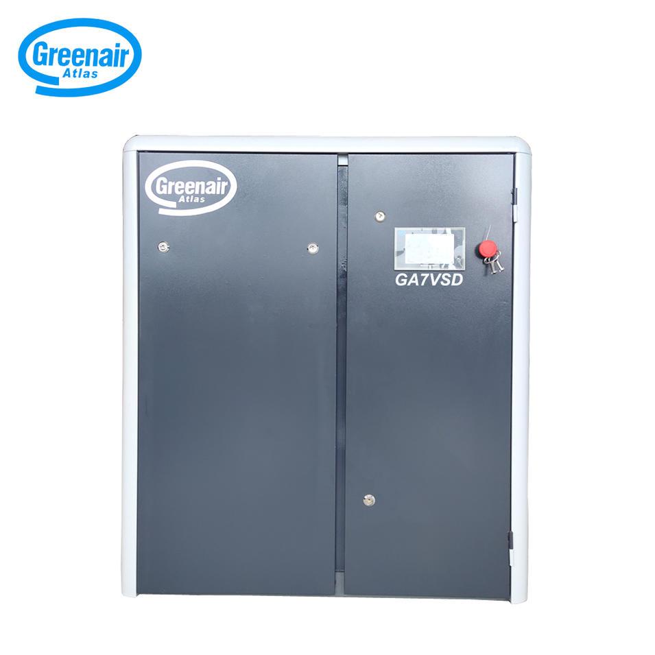 Greenair Atlas 7.5kW 10HP GA7VSD Varible Speed Energy Saving Screw Air Compressor