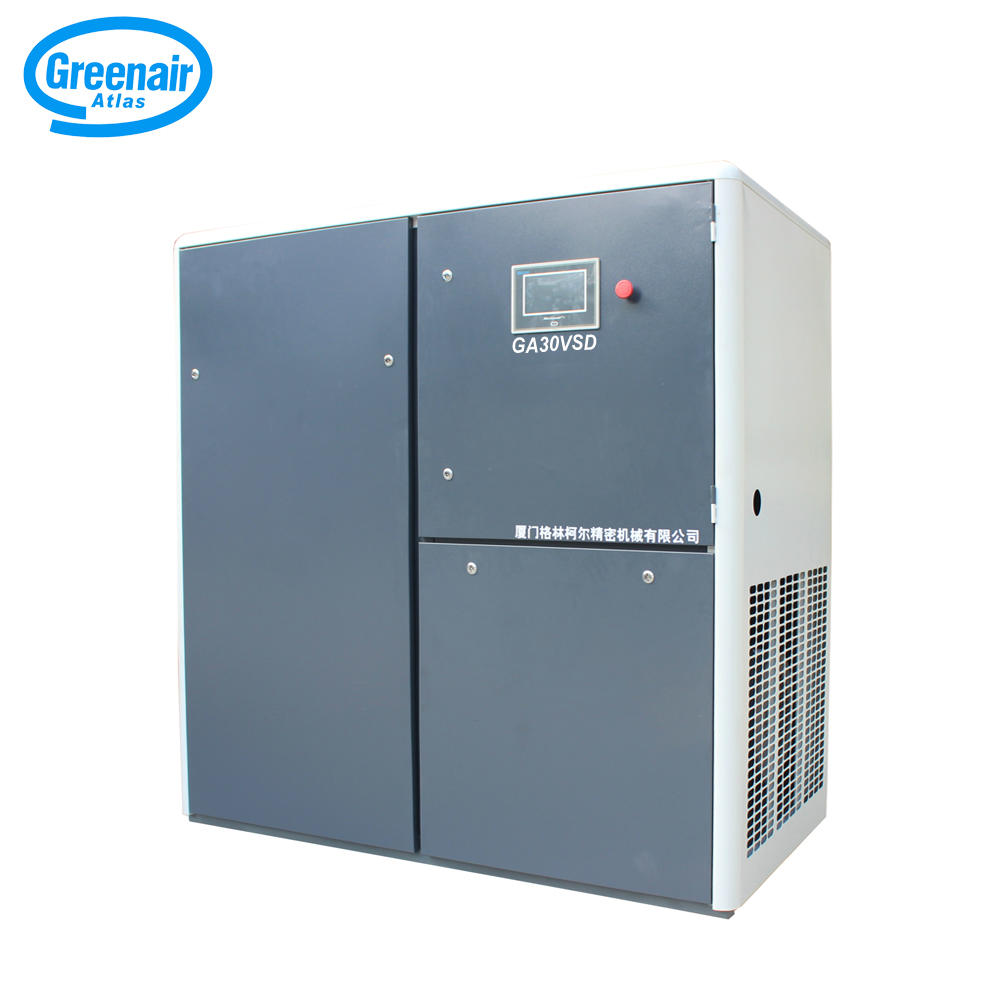 Greenair Atlas GA30VSD 30KW 40HP Rotary Screw Air Compressor