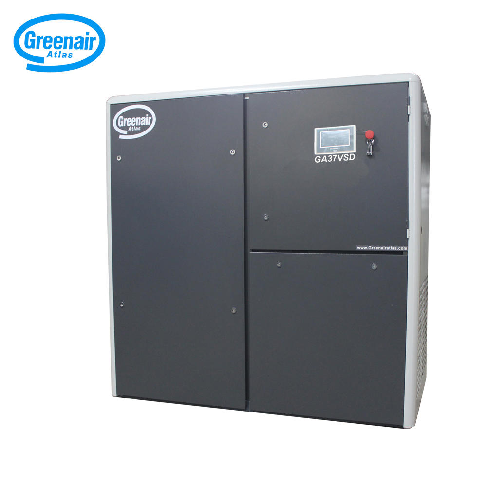 Greenair Atlas GA37VSD Oil Flooded Rotary Screw Air Compressor 37KW 50HP