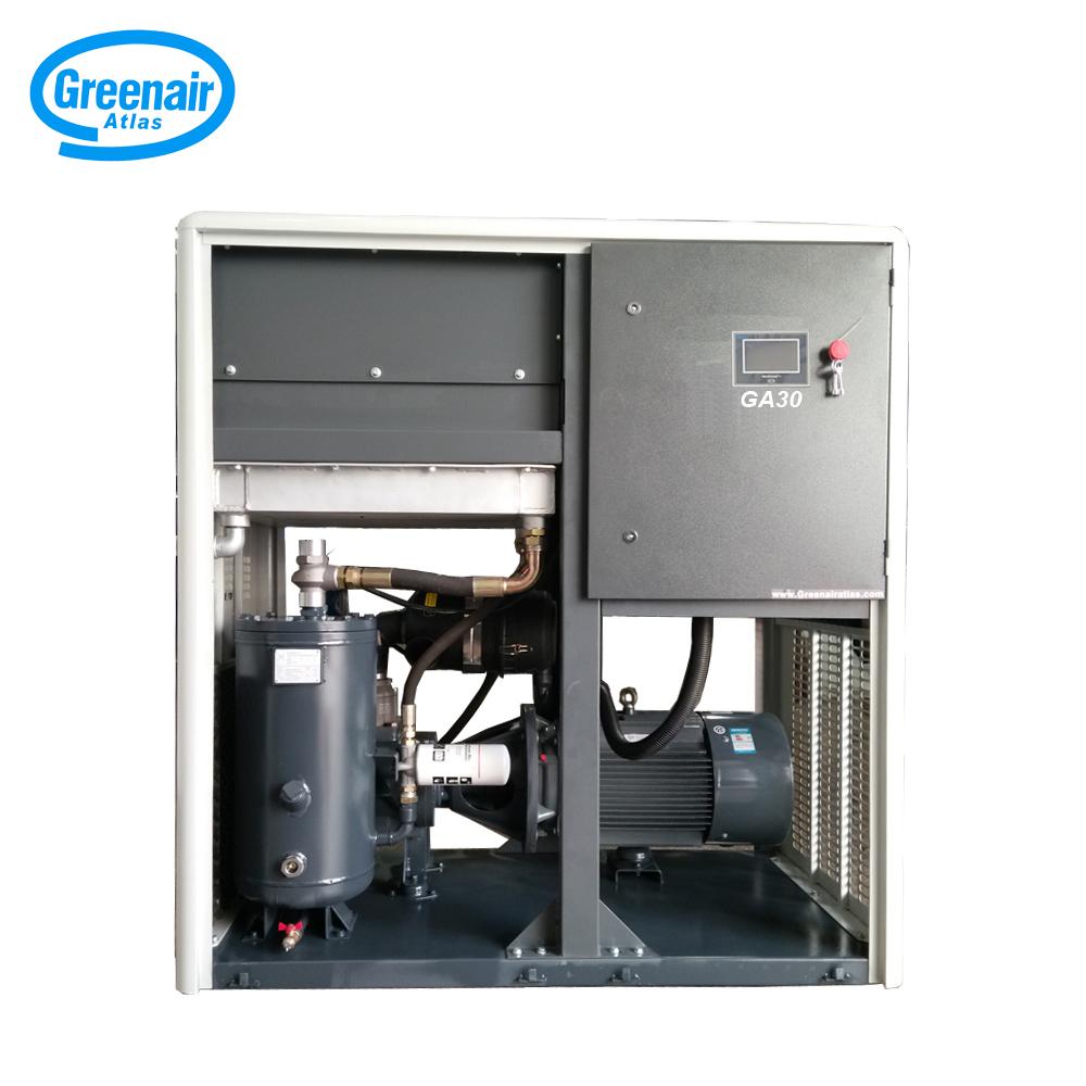 Atlas Greenair Screw Air Compressor fixed speed rotary screw air compressor factory wholesale-2