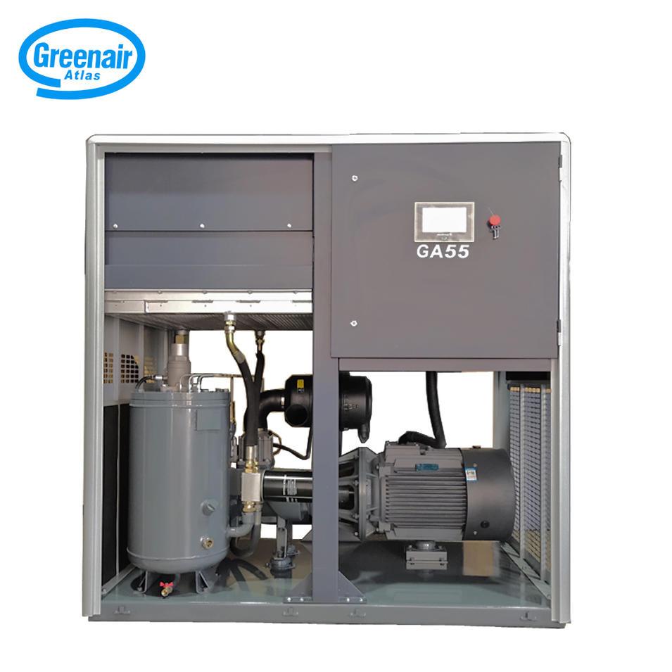 Greenair Atlas GA55 55kW 75HP Industrial Oil Injected Screw Air Compressor